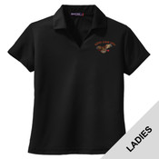 L469 - A114E009 - EMB - ladies Wicking Polo
