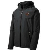J333 - A114E009 - EMB - Waterproof Rain Jacket