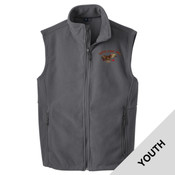 Y219 - A114E009 - EMB - Youth Fleece Vest