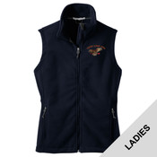 L219 - A114E009 - EMB - Ladies Fleece Vest