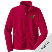 Y217 - A114E009 - EMB - Youth Fleece Jacket