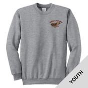 PC90Y - A114E009 - EMB - Youth Crewneck Sweatshirt